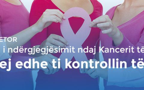 Tetori, muaji i ndërgjegjësimit ndaj Kancerit të Gjirit